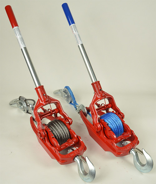The More Power Puller Available with Steel Cable or Amsteel Blue® Rope